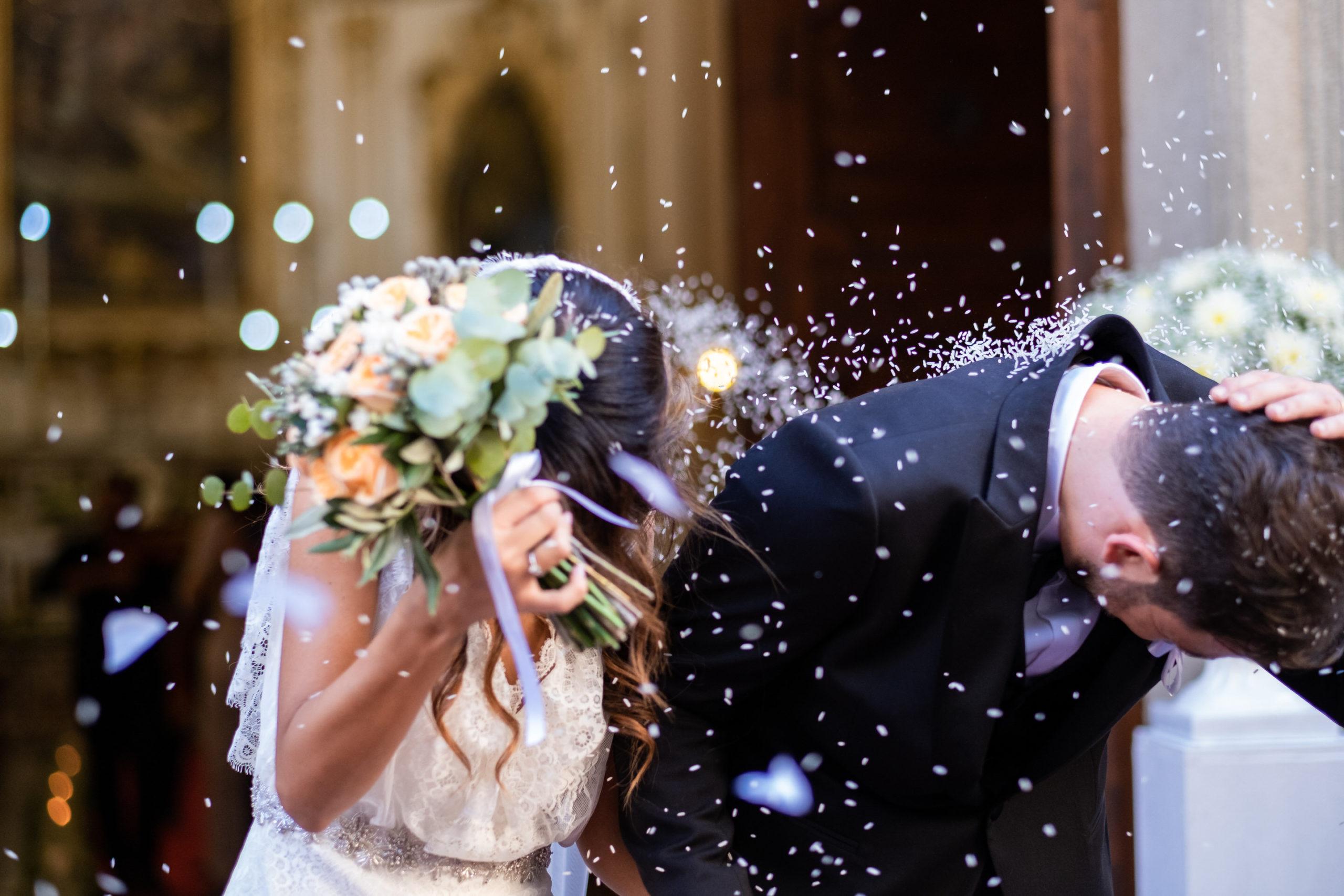 Wedding Confetti Toss