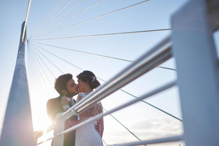 fotografo matrimonio ponte di calatrava cozenza