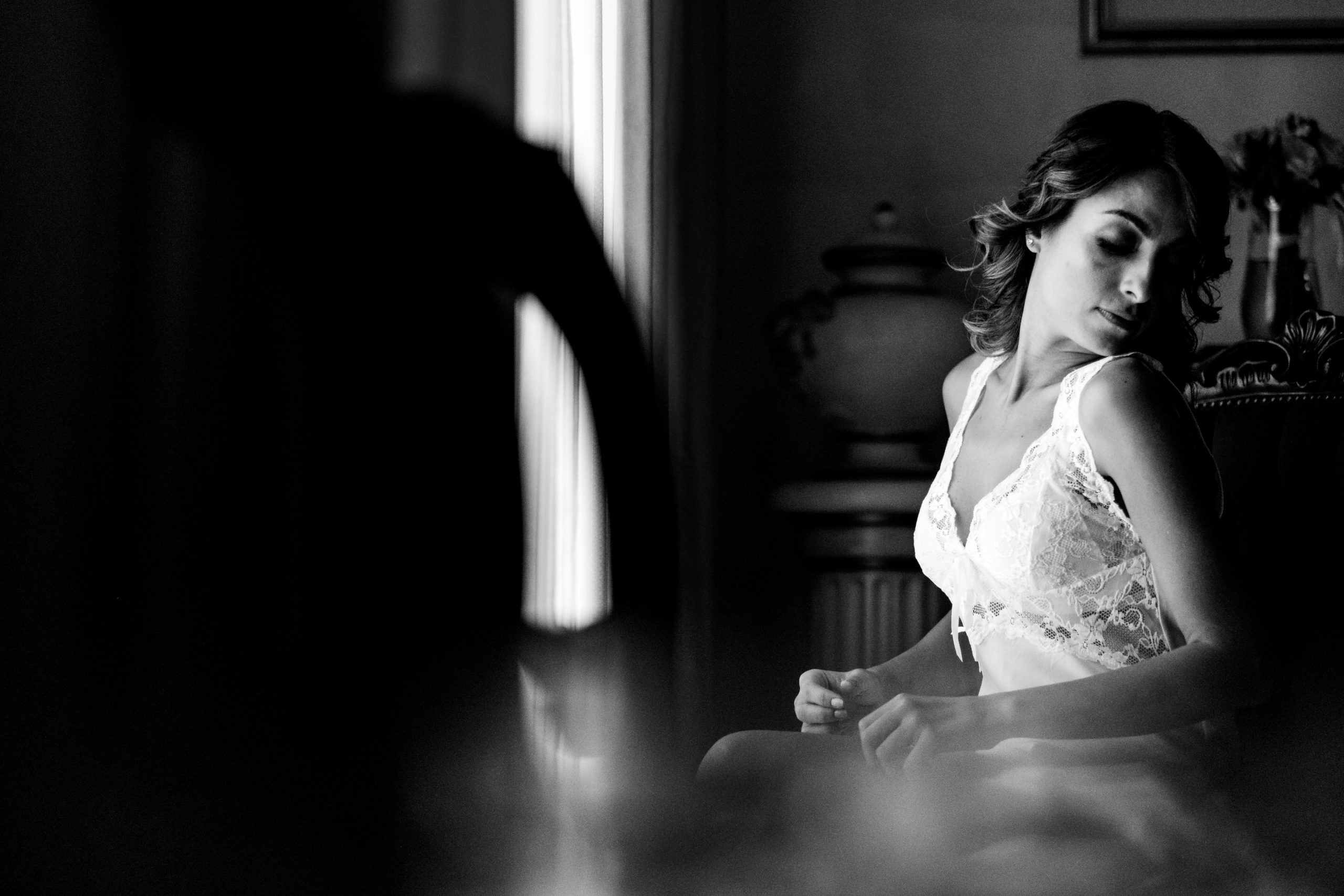 wedding in diamante calabria italy Sensual Bride Getting Ready
