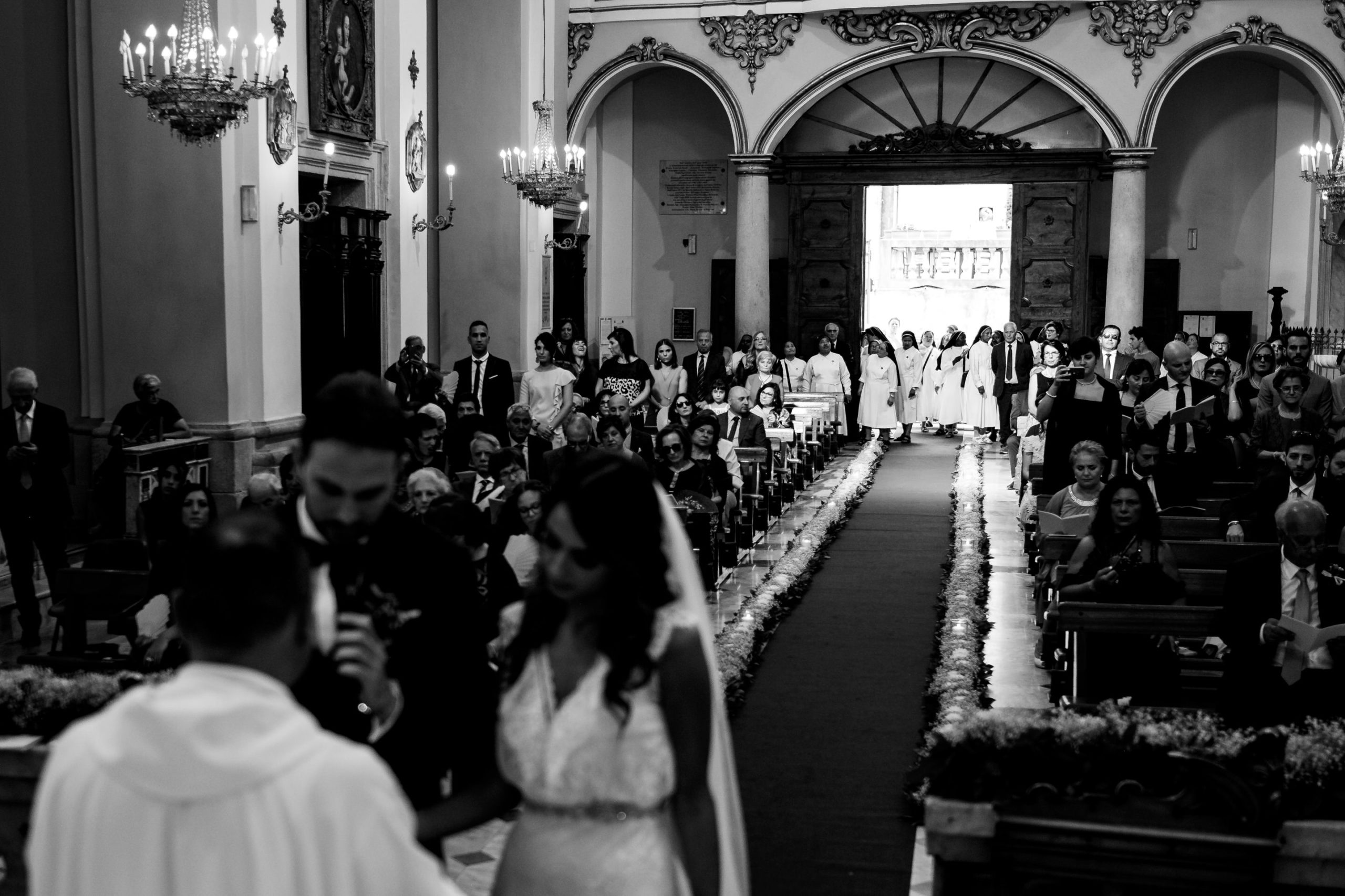 wedding in diamante calabria italy Wedding Ceremony in Italian Church